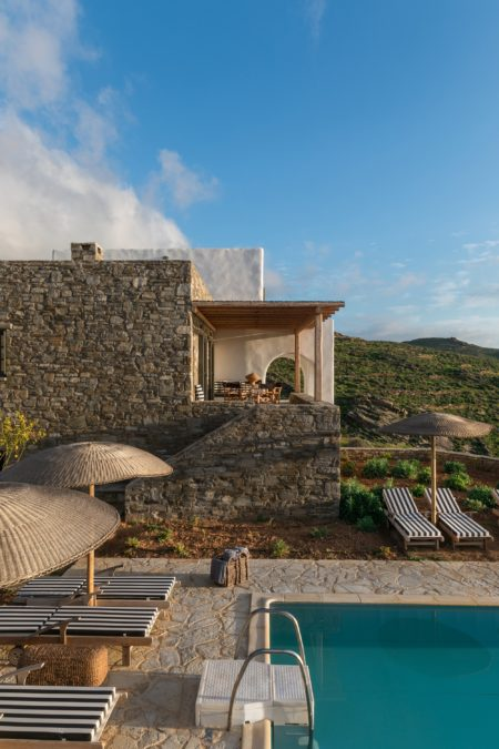 24 estate villas paros cycladic architecture