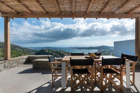 24Estate Villas Paros view from terrace